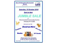 Cats Protection Jumble Sale