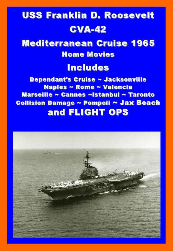 USS FRANKLIN D ROOSEVELT CVA-42 1965 MED CRUISE VIDEO