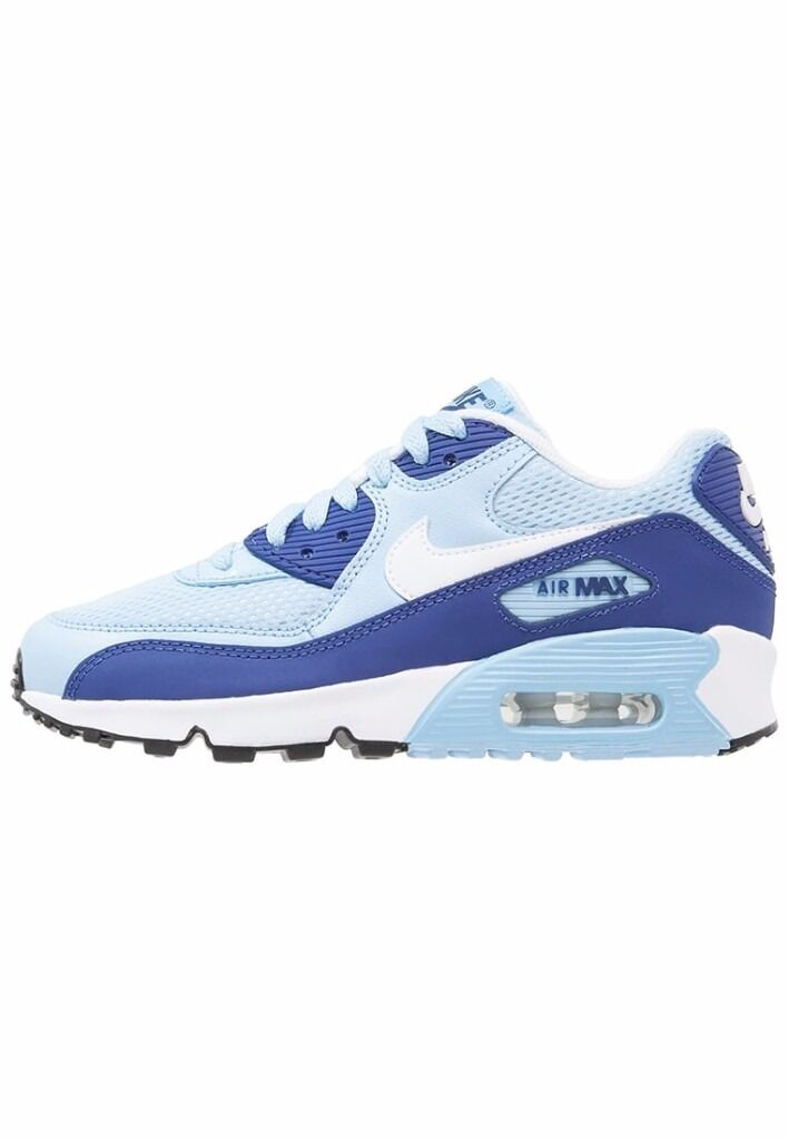NEW Nike Thea Air Max running trainers UK 5.5 blue white