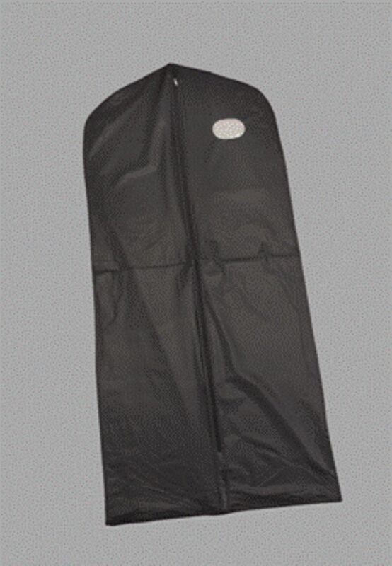 Black Vinyl Garment Bag Tuxedo Waterproof Bag 54""