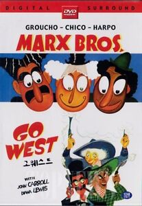 Go-West-1940-Marx-Brothers-DVD-Sealed