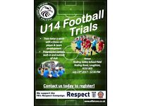 U14 Football Trials - Epping Forest Falcons