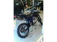 Yamaha Wr 125 r 2014 4 stroke motorbike