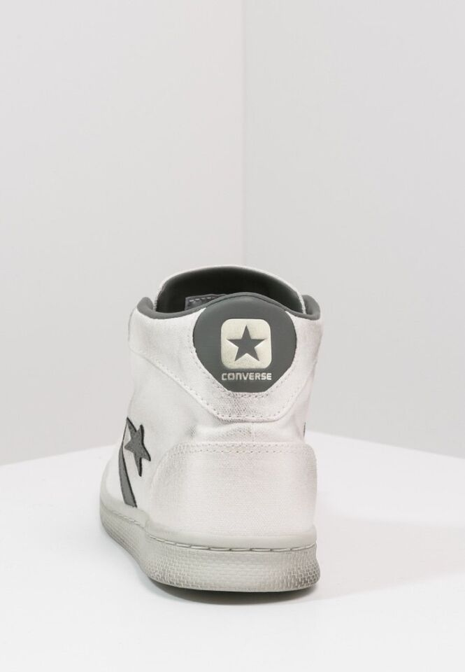 Converse PRO MID Sneaker high whitecharcoal distressed (Gr. 44)