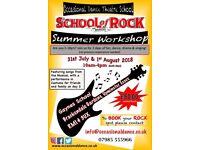 School of Rock Summer Workshop