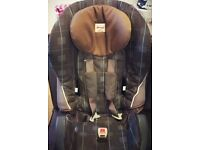 Britax branded car seat Group 1-2-3 from 9 to 36kgs