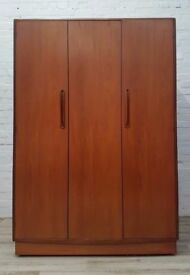 G-plan Fresco Triple Wardrobe (DELIVERY AVAILABLE FOR THIS ITEM OF FURNITURE)