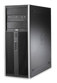 Gaming PC HP Intel quad core 2.33GHz,6GB RAM,GTX 750 1GB-Ready for Fortnite,HDD 320GB,Win10,cleaned
