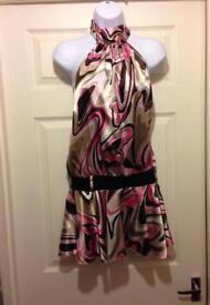 Pink Halterneck Dress from The Vestry