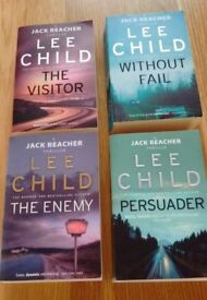 Lee Child - Jack Reacher - Without Fail, The Enemy, Persuader, The Visitor
