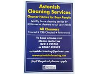 Astonish Cleaning Services. West Sussex
