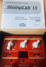 Stomplab 1b multi effect processor new condition