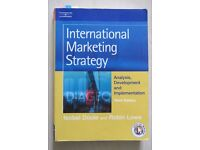 INTERNATIONAL MARKETING STRATEGY: ANALYSIS, DEVELOPMENT AND IMPLEMENTATION, ISOB