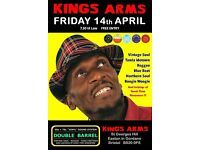 FRIDAY 14th APRIL - 60s 70s SOUL / REGGAE / MOTOWN / SKA with DOUBLE BARREL – EASTON IN GORDANO