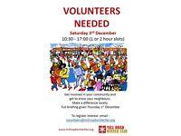 Steward Volunteers for Mill Road Winter Fair - 3rd December 2016