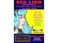 FRIDAY 26th JANUARY - 60s 70s SOUL / REGGAE / MOTOWN with DOUBLE BARREL – MANGOTSFIELD
