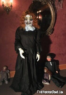 Porcelain Doll Halloween Costumes (Cracked Porcelain Doll Costume - TheHorrorDome.com Halloween)