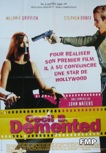 CECIL B. DEMENTED - WATERS / GRIFFITH - ORIGINAL POSTER