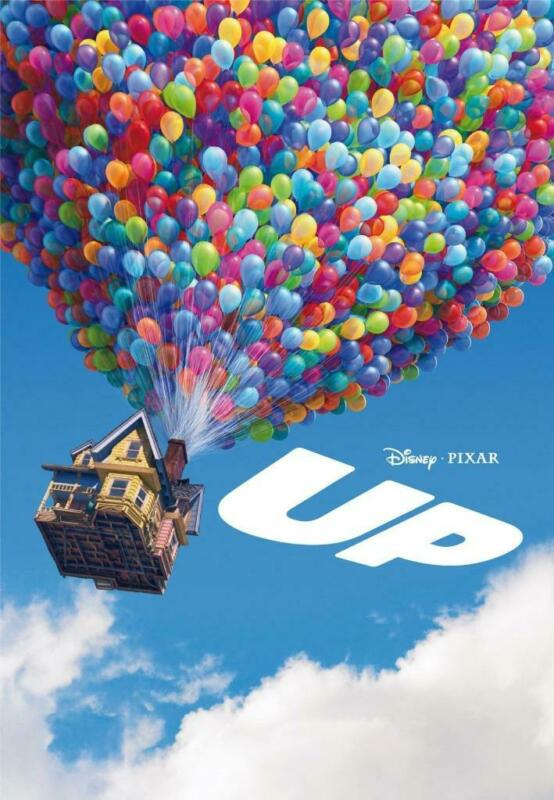 Up Movie Poster Print Wall Art 8x10 11x17 16x20 22x28 24x36 27x40 Asner Plummer