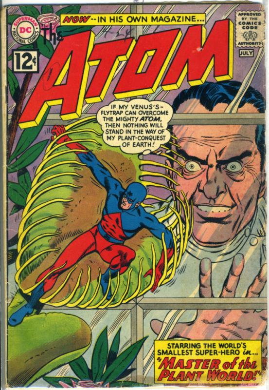 ATOM #1 © 1962 DC Comics