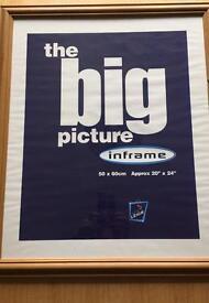 Picture / Poster Frame Oak Colour