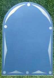 Curve Top Mirror