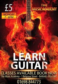 Learn Guitar - Guitar Class Lessons - Only £5 - Guitar Class Tuition