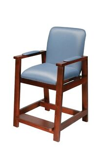 Drive Medical Wood Hip High Chair 17100 surgery High Chair NEW