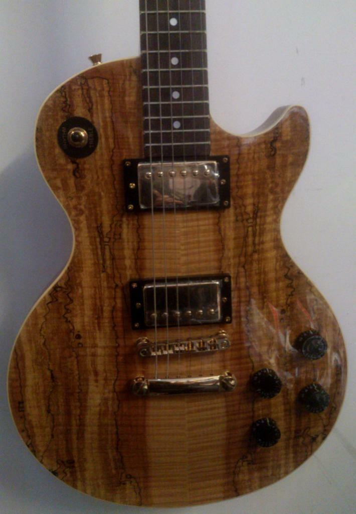Spalted Maple Les Paul Ashton Spalted Maple Les Paul