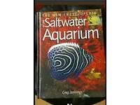 The new encyclopedia of a saltwater aquarium book