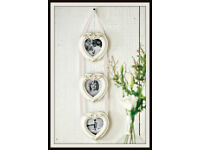 3 Hearts Photo Frame
