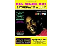 SATURDAY 22nd JULY- 60s 70s SOUL / REGGAE / MOTOWN / BLUE BEAT - DOUBLE BARREL - City Centre.