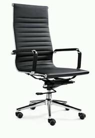 High back executive Eames style office chair (used once)