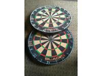 2 x dartboards
