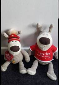 Pair of Boofle soft toys in exellent clean condition.