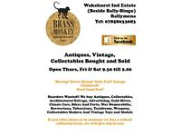 Wanted Antiques Collectables Curios Militaria Vintage Furniture