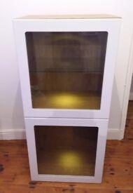 IKEA BESTÅ storage cabinet with glass doors
