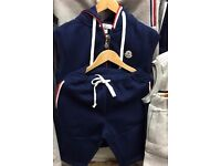 Moncler short sleeveless top tracksuit