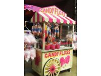 FEMALE CANDY FLOSS SELLER REQUIRED, DRIVER, FRIENDLY - WEEKENDS ONLY