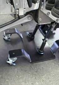 Motorbike main stand mover