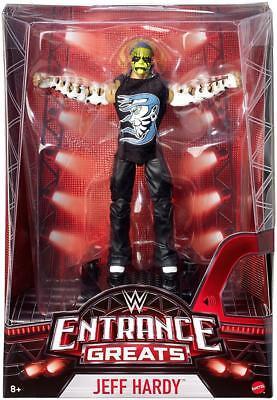 Jeff Hardy WWE Mattel Entrance Greats Brand New Action Figure - Mint Packaging