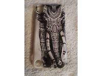HTC Desire 530 Rubber Aztec Ornate Elephant Theme Mandala Phone Case Pre-owned