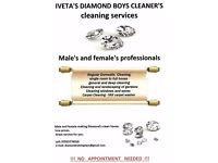 IVETA'S DIAMOND BOYS CLEANER'S