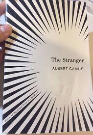 The Stranger by Albert Camus - Nobel Prize winning literature! (Free pen)