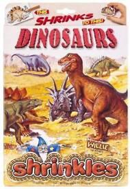 Dinosaur Shrinkles: Brand New in Sealed Box