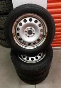 (H181) Pneus Hiver - Winter Tires 185-65-15 Toyo