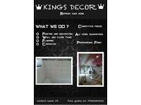 KINGS DECOR HANDYMAN PAINTER DECORATOR AND TILING