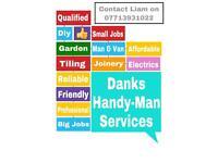Laminate fitter, door fitter, kitchen fitter, maintenance, handy man