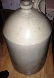 Stoneware Beer Flagon