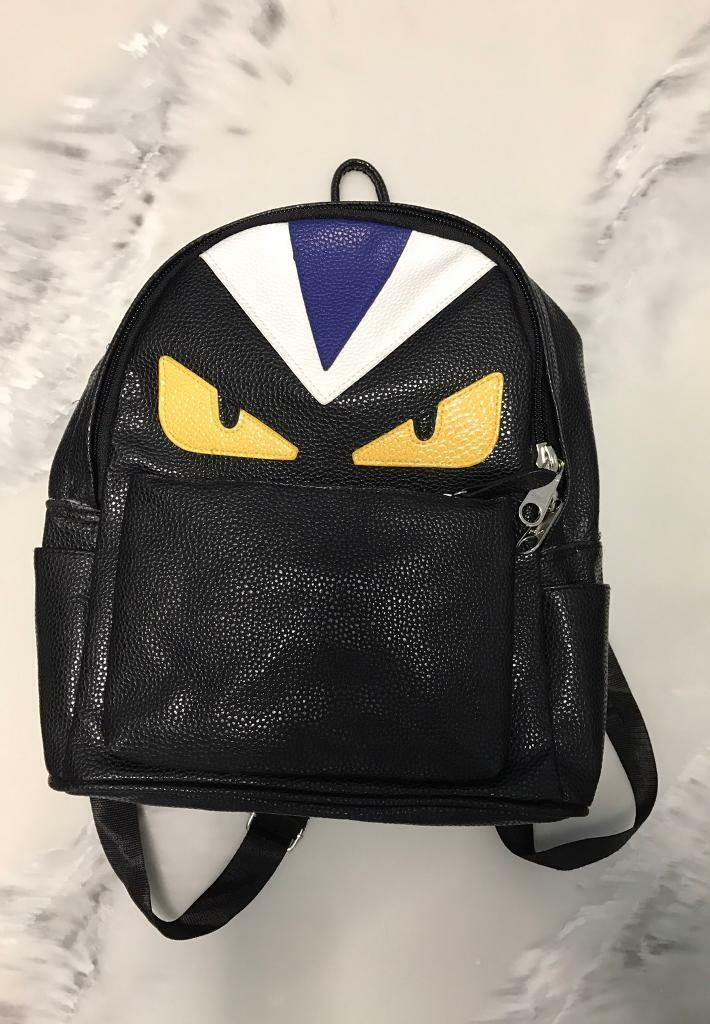 Fendi Monster Backpack Leather